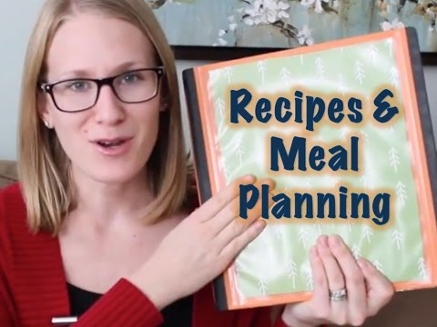 Meal Planning and Recipe Organization