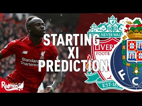 Liverpool V Porto | Starting XI Prediction LIVE