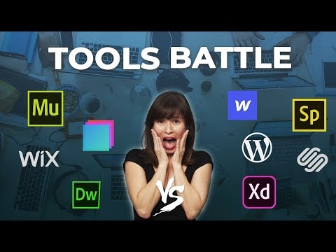 Adobe Muse vs WordPress vs Dreamweaver vs Squarespace vs Webflow vs Wix vs others | 2019