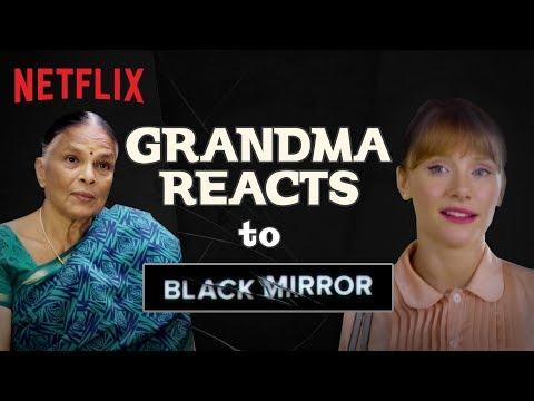 Indian Grandma Reacts To Black Mirror | Netflix