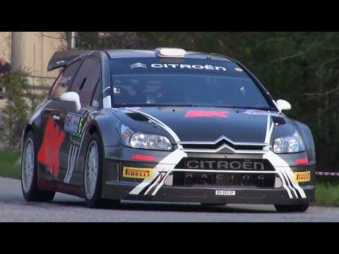 Kubica na testowym Rally di Como