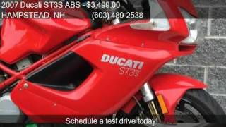 3. 2007 Ducati ST3S ABS  for sale in HAMPSTEAD, NH 03841 at Mon