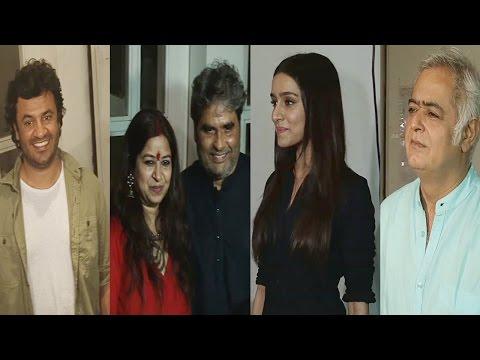 Celebration On Getting National Award For Film Haider With Shraddha Kapoor, Vishal Bhardwaj