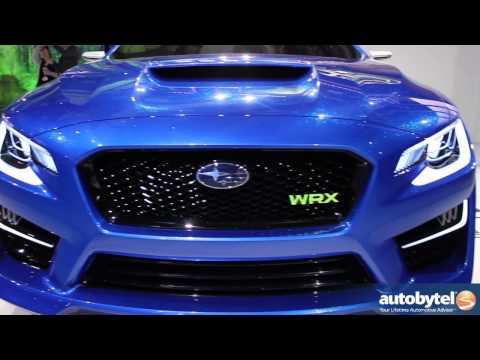 Subaru WRX Concept at The 2013 New York Auto Show