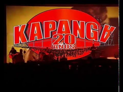 Kapanga video Miles de ideas - Luna Park 2015 - 20 Años