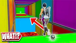 This Deathrun was EASY... until this IMPOSSIBLE level! (Fortnite Creative)