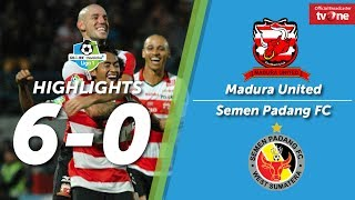 Video Madura United vs Semen Padang FC: 6-0 All Goals & Highlights MP3, 3GP, MP4, WEBM, AVI, FLV Juli 2018