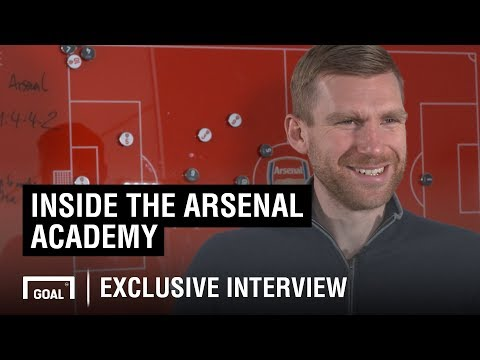 Inside The Arsenal Academy With Per Mertesacker