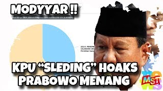 Video KPU Sleding Hoaks Prabowo Menang! Modyarr! MP3, 3GP, MP4, WEBM, AVI, FLV April 2019