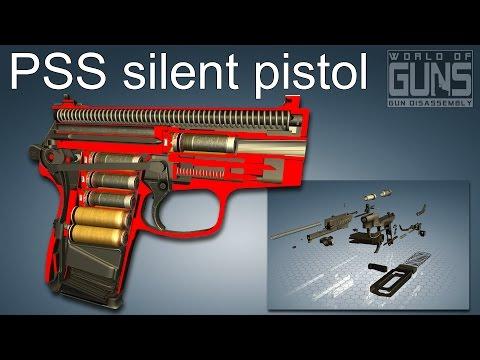 PSS silent pistol (ПСС \