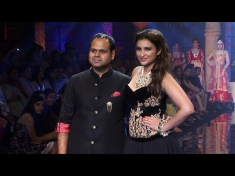 Parineeti Chopra On Ramp At India International Jewellery Week (IIJW) 2014