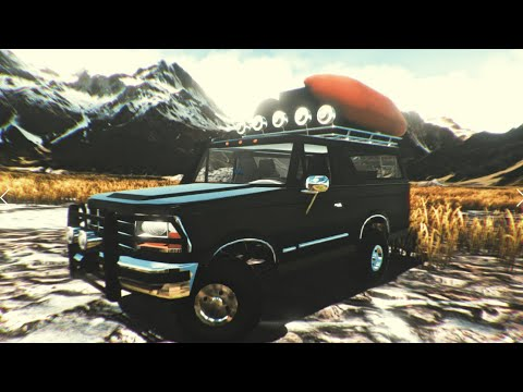 The valley by Kennneth| Bronco Ride