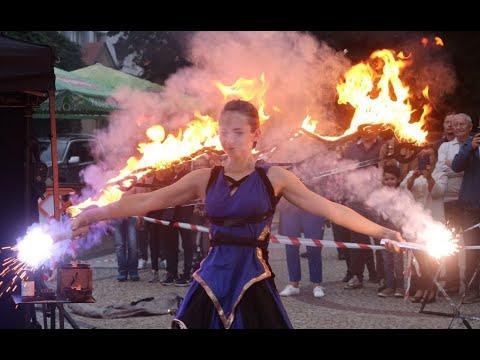Wideo: Teatr Ognia w Polkowicach