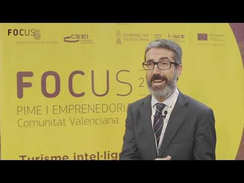 Justo Vellón en Focus Pyme y Emprendimiento Comunitat Valenciana 2018