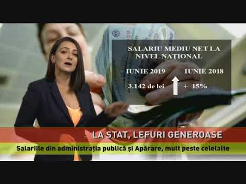 Salariile unor funcționari publici, cu 58% peste cele ale angajaților din restul economiei