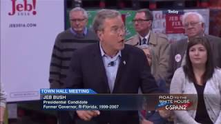 Atlantic (IA) United States  City pictures : Presidential Candidate Jeb Bush Town Hall in Atlantic Iowa
