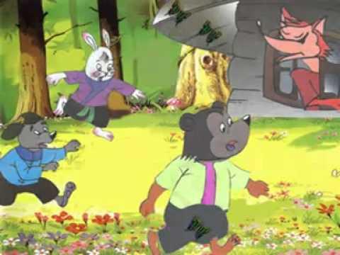 Truyện cổ tích - Cáo Thỏ và Gà Trống - Mèo TOM kể