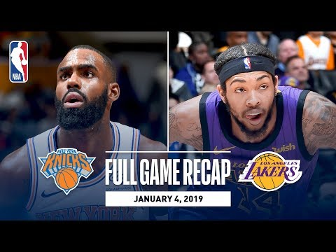 Video: Full Game Recap: Knicks vs Lakers | New York and Los Angeles Go Down To The Wire