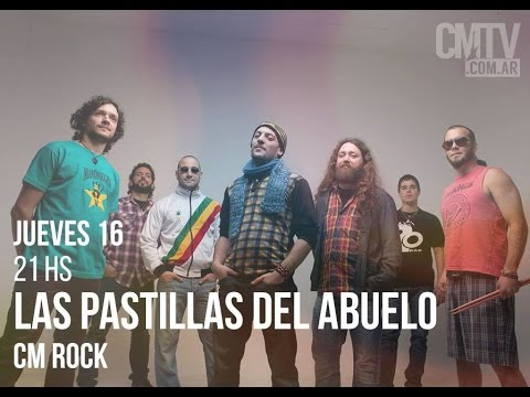 Las Pastillas del Abuelo video Entrevista CM Rock - Abril 2015