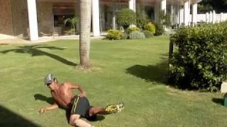 葛西選手 体幹トレーニング