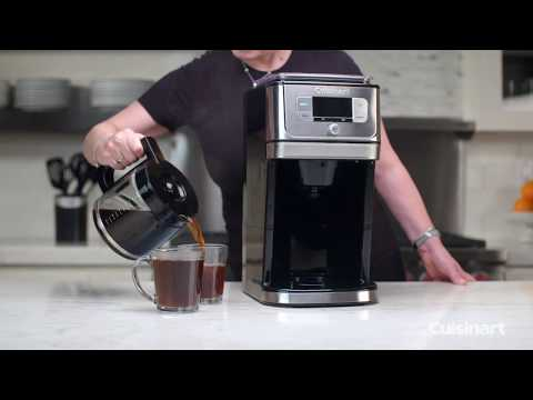 Cuisinart Self Cleaning Burr Grind & Brew Coffeemaker (DGB-800C)