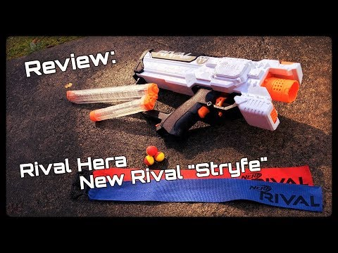Review: Nerf Rival Hera MXVII-1200 (Full Unboxing and Demo) In 4K!