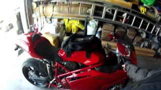 9. 2005 Ducati 999 w/ 999R parts
