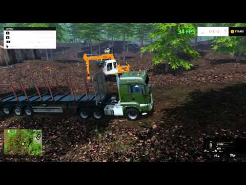 farming simulator 2015 logging without lag at last