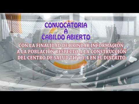 CONVOCATORIA A CABILDO ABIERTO