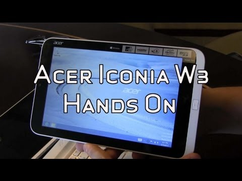 Acer Iconia W3 8
