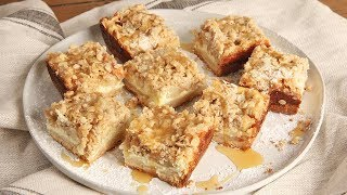 Caramel Apple Cheesecake Bars | Ep. 1292 by Laura in the Kitchen