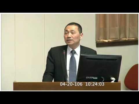 侯副市長出席「前瞻基礎建設特別條例草案」公聽會