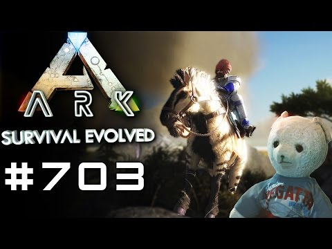 ARK #703 EINHORN SUCHE #2 PATCH 256 ARK Deutsch / German / Gameplay (видео)