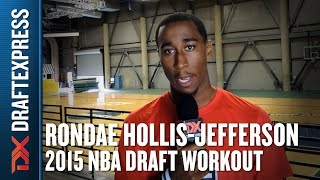 Rondae Hollis-Jefferson - 2015 Pre-Draft Workout & Interview - DraftExpress