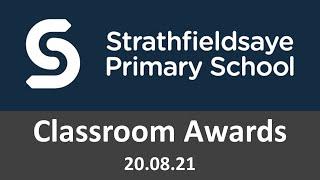 Classroom Awards 20.08.21