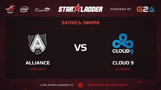Alliance vs Cloud9, game 2