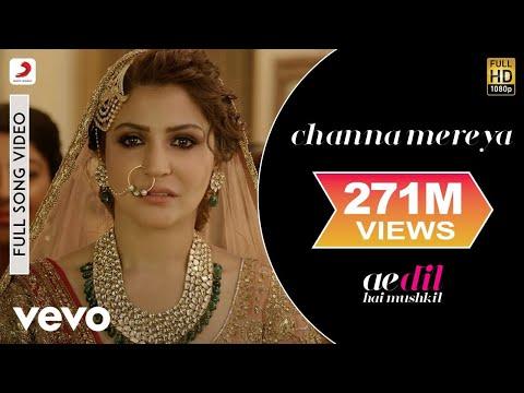 Channa Mereya Full Video - ADHM Ranbir Kapoor, Anushka Arijit Singh Pritam Karan Johar