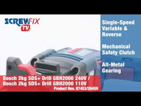 Bosch GBH 2000 2kg  SDS Plus Drill 240V