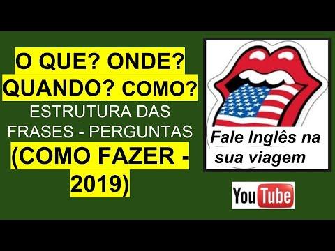 Frases inteligentes - == APRENDA FAZER PERGUNTAS EM INGLÊS + AUXILIARES de verbos.