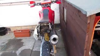 8. Honda XR650r sound engine