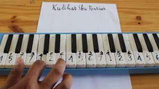 Kulihat Ibu Pertiwi || Pianika