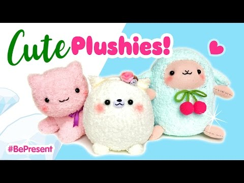 3 Adorable Handmade Plushies!!! Budget DIY Gifts for People You Love