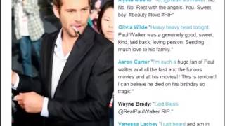 Nonton Paul Walker Death  Stars Tweet Their Goodbyes to the Fast & Furious Actor #R I P to Paul Walker Film Subtitle Indonesia Streaming Movie Download