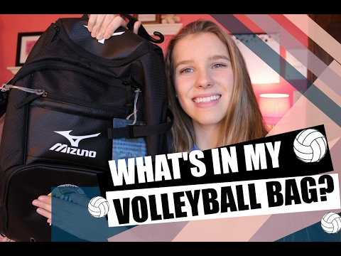 WHAT'S IN MY VOLLEYBALL BAG?