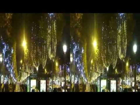 NOEL CHAMPS ELYSEES 2014 (Illumination) en 3D #01
