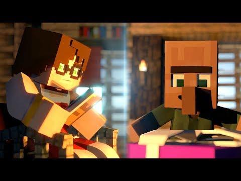 MİNECRAFT EVİ ŞARKISI - YENİ YIL VERSİYONU - (Minecraft Animation)