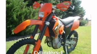 1. 2005 KTM MXC 525 Desert Racing -  Specs Engine