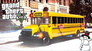 How to be a School Bus Driver in GTA 5!!
