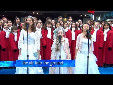 sing - Idina Menzel, the New York City Children's Chorus, and viewers around the country, join together for a live sing-a-long event.