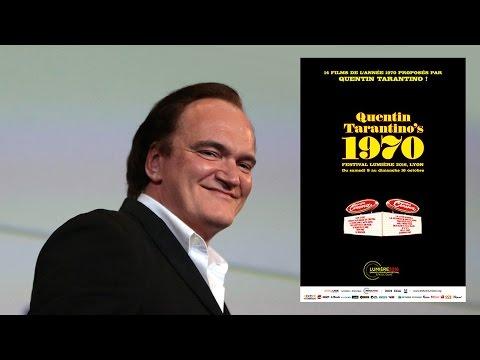 Master class Quentin Tarantino le 12 Octobre 2016 à Lyon